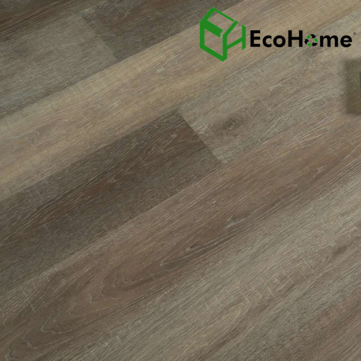 Dark Brown Embossed in Register SPC Flooring